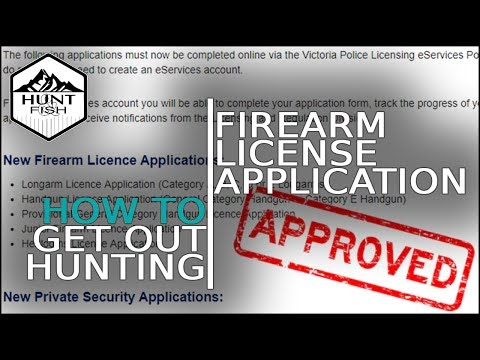 How To Get A Gun License - Firearm Licenses In Victoria