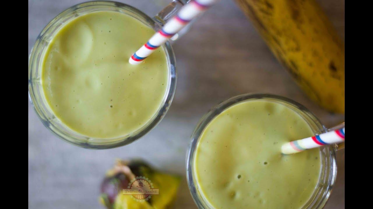 Cómo hacer Batido de Aguacate ¡Delicioso y Saludable!