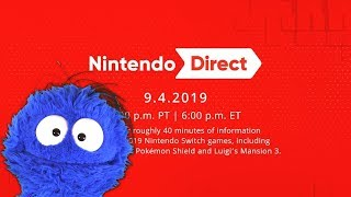 Nintendo Direct 9/4/2019 Live Reaction and Commentary