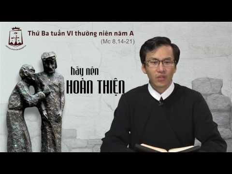 Thứ Ba tuần VI Thường Niên A - Lm Giuse-Maria Lê Thanh Thiện Đạt CSsR www.dcctvn.org 14/02/2017