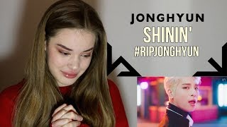 JONGHYUN 종현 '빛이 나 (Shinin') MV REACTION | Lexie Marie