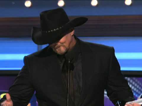 "Trace Adkins Wins Single Of The Year For ""You're Gonna Miss This"" - ACM Awards 2009"