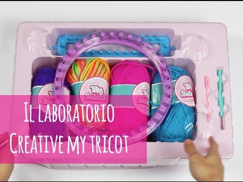 di prim'ordine arrivo stile di moda Laboratorio Creative My tricot: per creare accessori con la lana ...