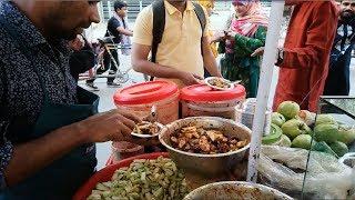 Yummy Green food Recipe Best spicy Mix kacha Boroi pyara Tetul Makha @ Tk 10 per plate BD food Dhaka