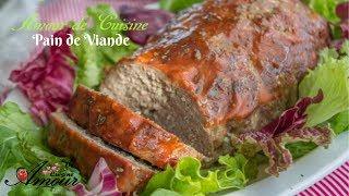 pain de viande, recette facile et simple de paté de viande, terrine de viande