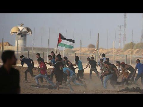 إسرائيل تطلق النار على متظاهرين في غزة وتقتل 7 أشخاص  - 07:53-2018 / 10 / 13