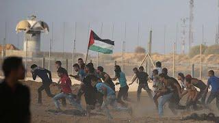 إسرائيل تطلق النار على متظاهرين في غزة وتقتل 7 أشخاص