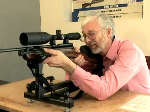 The Easy Way To Sight In An Air Rifle Scope Youtube