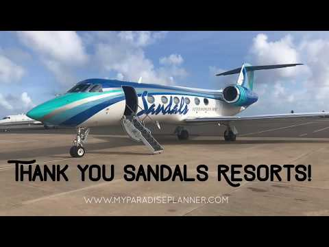 Flying On The Sandals Resorts Private Jet From Barbados To Grenada