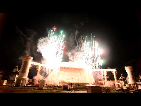 Samsung Everland Themepark (Seoul, Korea) - Fireworks Part 4