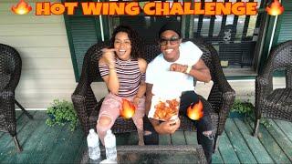 BUFFALO HOT WING CHALLENGE (Gone Wrong)