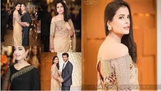 Vasia Fatima and Kinza Hashmi at a Wedding Event