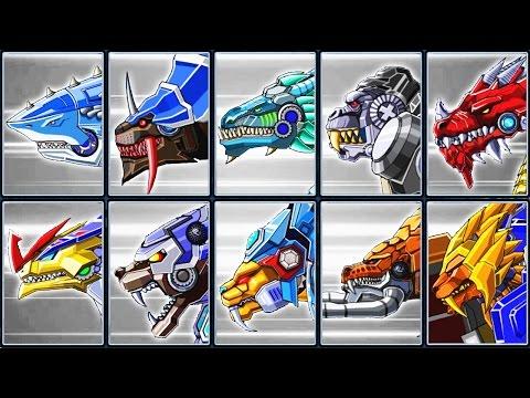 Toy Robot War Gameplay #6: Shark, Thunder Leopard, Velociraptor & Creatures | Eftsei Gaming