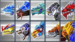 Toy Robot War Gameplay #6: Shark, Thunder Leopard, Velociraptor & Creatures | Eftsei Gaming