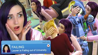 The Sims 4 ...but I Try to DO EVERYTHING You Should NOT DO at UNIVERSITY