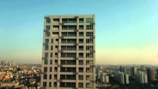 サンクタス川崎タワー建設現場の2012年3月16日の様子を90秒でまとめまし...