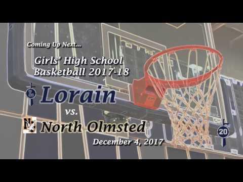 Girls' Varsity Basketball Lorain vs. North Olmsted 12-4- 17