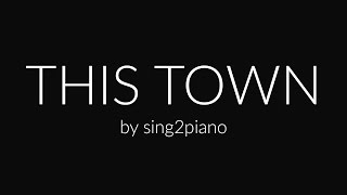 This Town (Piano karaoke demo) Niall Horan