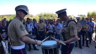 Download #SFBandChallenge15: Benicia Drumline VS 1st Marine Division Mp3 and Videos