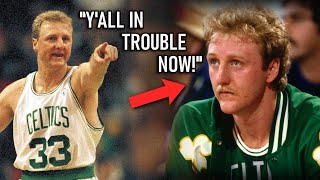 5 Times Larry Bird Sought REVENGE!