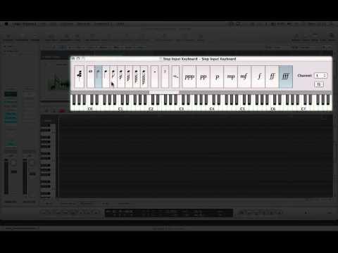 Step Input Keyboard - Logic 9