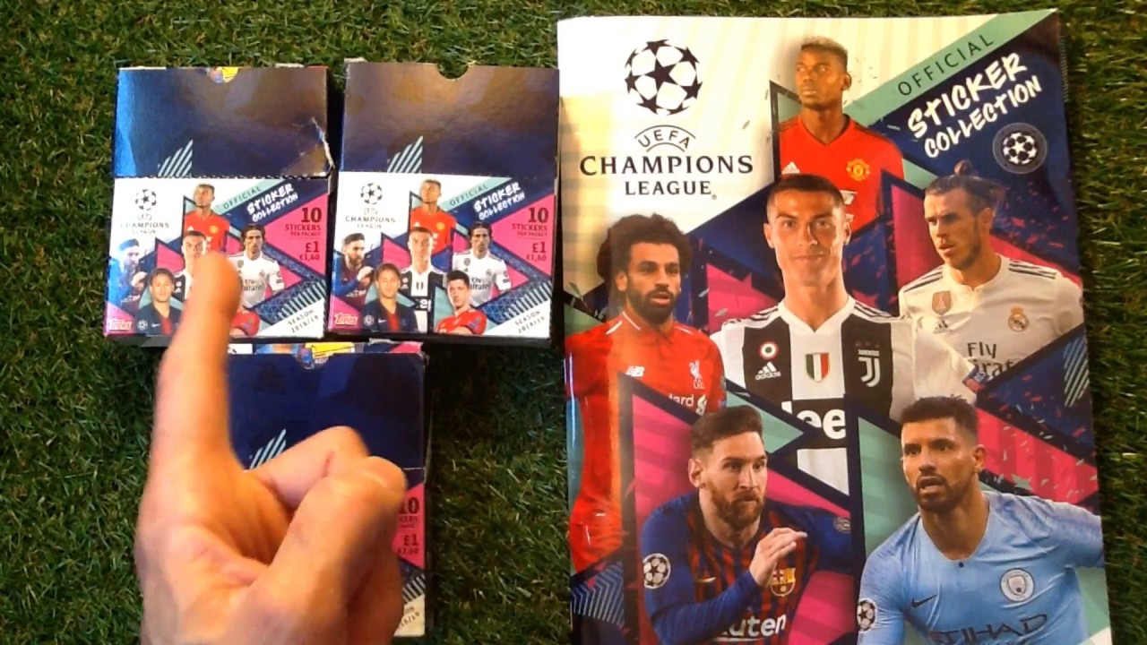 LOOSE STICKERS 20 QTY 10 TOPPS CHAMPIONS LEAGUE 2018//19 STICKERS 30,40,50