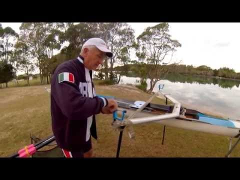 Basic Rigging for Sculling Shell - Step 3