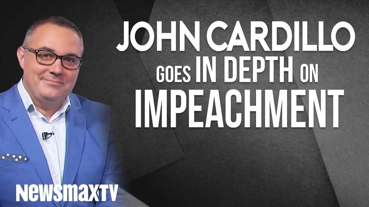 Newsmax John Cardillo Goes In-Depth On Impeachment