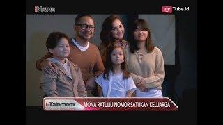 Keseruan Mona Ratuliu Jalani Foto Keluarga  -  i-Tainment 23/04