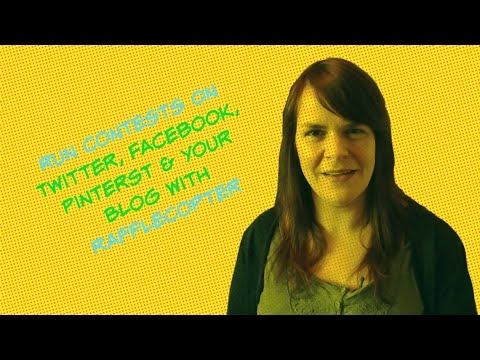 Get More Buzz For Your Social Media Contests With Rafflecopter