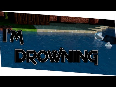 I CAN'T SWIM (Minecraft Survival Games)