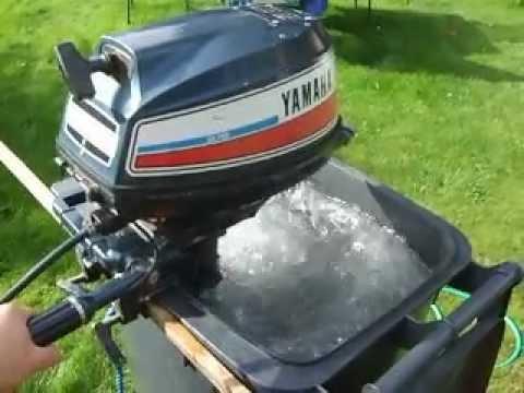Yamaha 5hp 2 Stroke Outboard Youtube
