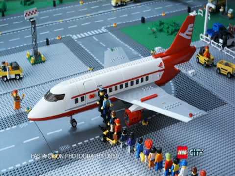 2010 LEGO City - Airport - YouTube