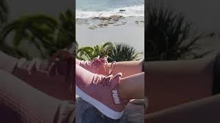 Puma Zenvo Running Shoes 😍 - YouTube