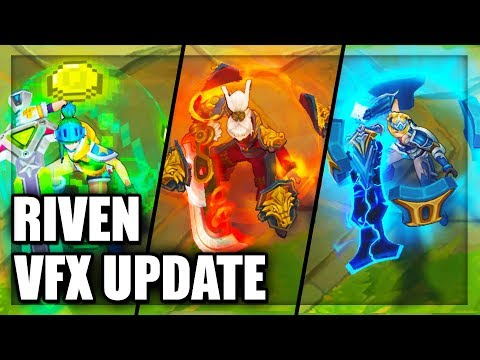 All Riven Skins Visual Effects (VFX) Update - League of Legends thumbnail