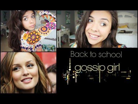 Blair Waldorf Back To School Makeup + Hair Gossip Girl - 동영상