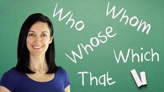 relative pronouns clauses english grammar lesson