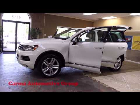 Carma Automotive-2012 VOLKSWAGEN TOUAREG TDI EXECUTIVE-Walkaround