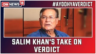 Ayodhya Verdict: Script Writer Salim Khan's Take On The Historic Verdict