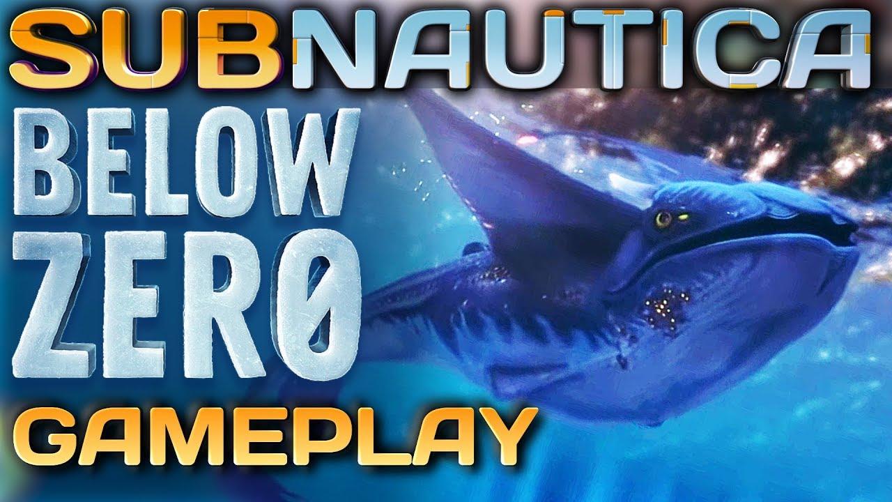 Subnautica Below Zero Erstes GAMEPLAY & DLC Info