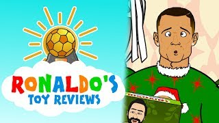 🎁RONALDO's TOY REVIEWS #1!🎁 (Football Toys!)(Parody)