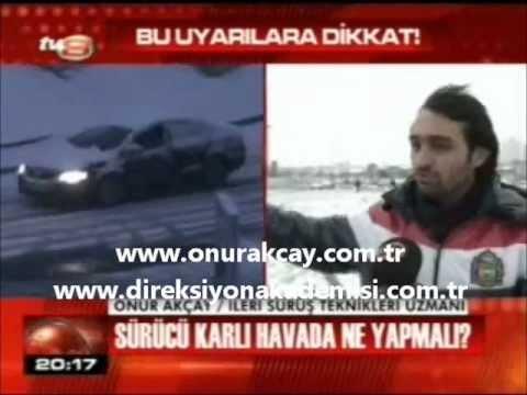 Karda Otomobil Kullanmak - Kış Mevsiminde Araç Kullanmak - Onur Akçay