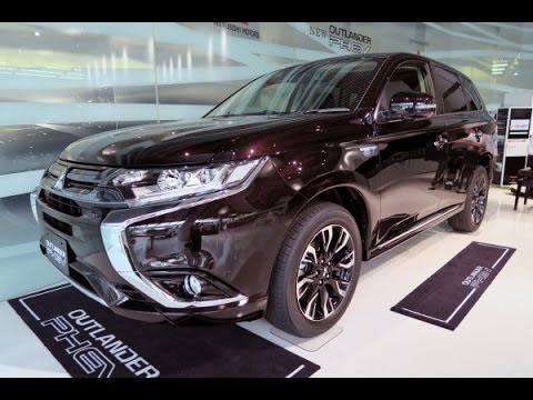 Mitsubishi Outlander Phev Black Youtube