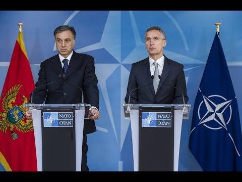 NATO Secretary General with the President of Montenegro, 7 JUN 2017