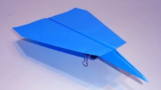 How To Make a Paper Airplane That Flies 100 meters | Supreme Skills Paper Plane