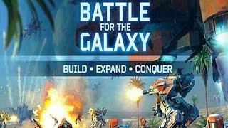 Battle for the Galaxy - FIRST PLAY (ПЕРВЫЙ ВЗГЛЯД/ОБЗОР) (iOS Gameplay)