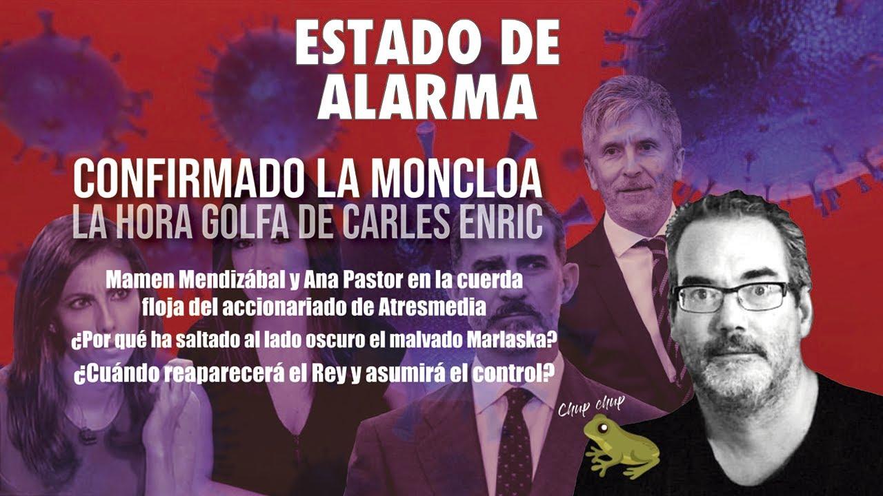 Carles Enric: Mamen Mendizábal y Ana Pastor en la cuerda floja en Atresmedida y reaparición del rey