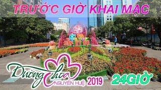 Đường hoa Nguyễn Huệ Tết 2019 trước giờ khai mạc đón Xuân Kỷ Hợi | ZaiTri