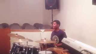Desmond  on drums (shouting music)