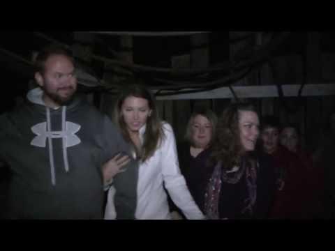 Dave And Jenn Visit Fallsburg Haunted House 2013